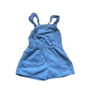 Old Navy chambray romper 3T
